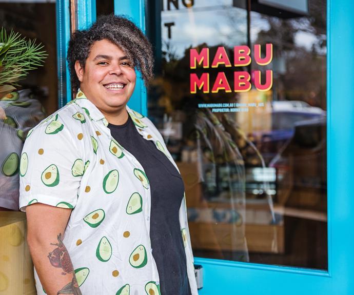 Nornie Bero, chef and owner of Mabu Mabu in Melbourne.