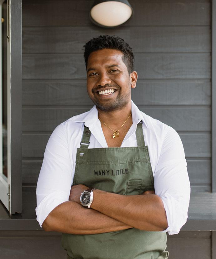 Sri Lankan-born head chef Gayan Pieris has been working in Australia for 16 years, his CV listing five-star hotels and names like Cumulus Inc.