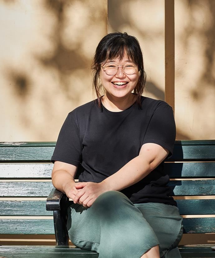 Eun Hee An, founder of Moon Mart.