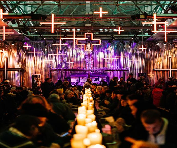 Chill out at Dark Mofo. Photography by Adam Gibson.