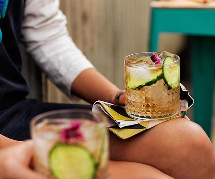 "**[Elderflower gin and tonic](https://www.gourmettraveller.com.au/recipes/browse-all/elderflower-g-and-t-11800 target=""_blank"" rel=""nofollow"")**"