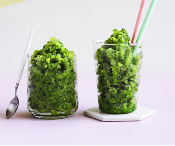 "**[Cucumber-gin slushie](https://www.gourmettraveller.com.au/recipes/browse-all/cucumber-gin-slushie-12948 target=""_blank"" rel=""nofollow"")**"