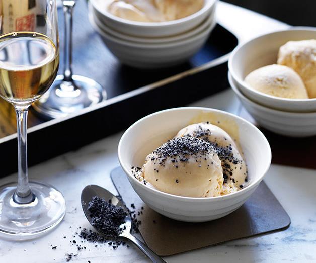 "[**Salted caramel semifreddo**](https://www.gourmettraveller.com.au/recipes/chefs-recipes/salted-caramel-semifreddo-8039|target=""_blank"")"
