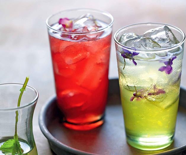 "**[Sharbat-e beh limoo (quince-lime sherbet)](http://www.gourmettraveller.com.au/recipes/chefs-recipes/sharbat-e-beh-limoo-quince-lime-sherbet-7504 target=""_blank"")**"