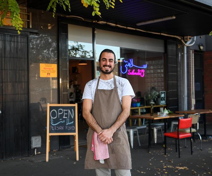 Hamed Allahyari, chef-owner of SalamaTea House.