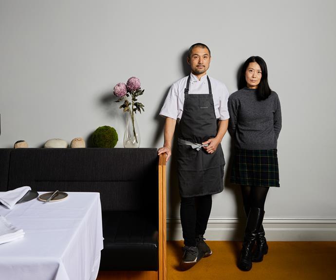 Kazuki & Saori Tsuya, co-owners of Kazuki's.