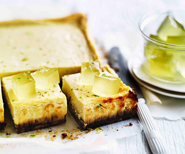 """[**Lime and mascarpone tart with Anzac biscuit base**](https://www.gourmettraveller.com.au/recipes/browse-all/lime-and-mascarpone-tart-with-anzac-biscuit-base-11288