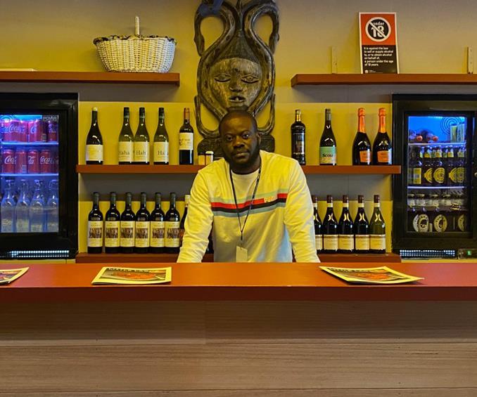 Ade Adeniyi, owner of Sydney's Little Lagos.