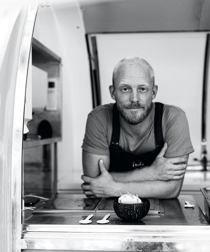 """Wal Foster, chef and co-founder of Natural Ice-cream Australia: """"I've always drawn inspiration from my time with Mum, she's been a big part of making it happen."""""""