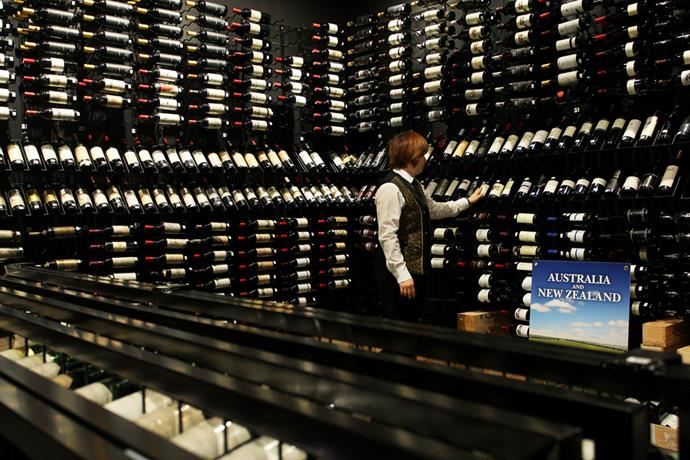 Golden Century's wine collection has been sold for $1.2 million to a mystery buyer.
