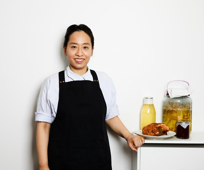 Chef Jung Eun Chae runs CHAE, a six-seat restaurant, from her apartment in Brunswick, Melbourne.