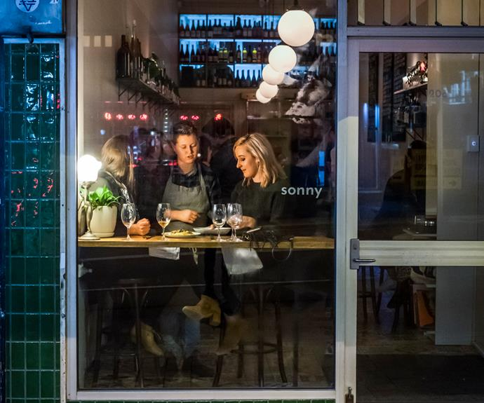 A look inside Hobart's Sunny, a finalist for the Wine Bar of the Year award.
