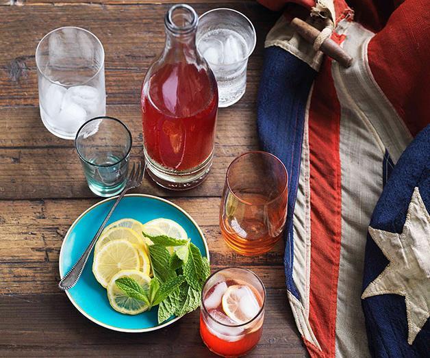 "[**Lemon and raspberry iced tea**](https://www.gourmettraveller.com.au/recipes/browse-all/lemon-and-raspberry-iced-tea-10880 target=""_blank"")<br>"