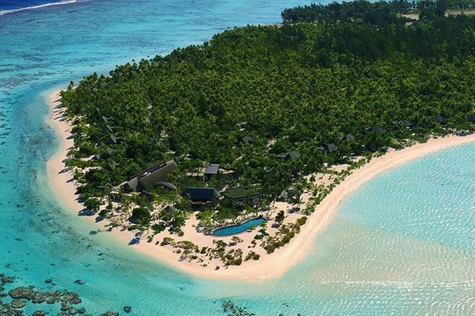 "**THE BRANDO** <br><br> Tahiti, [thebrando.com](https://thebrando.com/|target=""_blank"")  <br><br> Located on its very own private island in the middle of the French Polynesia, you can't ""getaway"" farther than this. Pricing includes a beachfront villa, meals and alcohol, 24-hour villa service, one guided island excursion, one spa treatment, all beach equipment, and a bicycle. It may also include sightings of newlyweds Pippa Middleton and James Matthews, who honeymooned here. The only thing the rate doesn't include is the supplmentar airfare to fly to the island.  <br><br> *Prices starting at approx $4,450 per night, per couple.*"