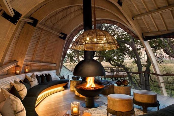 "**AND BEYOND RESORT** <br><br> Botswana, Africa, [andbeyond.com](https://www.andbeyond.com/botswana-places-to-stay/|target=""_blank"") <br><br> A wild, African escape with experiences ranging from Safari tours to river boat excursions. But for those less inclined to adventure, the resort is certainly nothing short of luxurious. With your stay you receive complimentary meals and alcohol, laundry, safari activities, and roundtrip airport transfers. And with six accommodation options, andBeyond is perfect for both honeymooners or families.  <br><br> *Prices starting at approx. $1,861 per night, per couple.*"