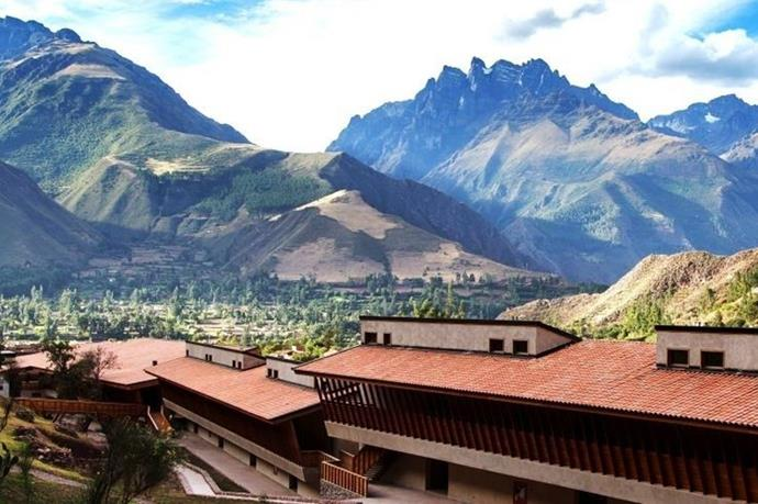 "**EXPLORA RESORT** <br><br> Sacred Valley, Peru, [explora.com](https://www.explora.com/hotels-and-travesias/sacred-valley-peru/|target=""_blank"") <br><br> In the mountainous valley where the Inca first settled, you'll find Explora's Sacred Valley resort. And while some resorts claim to be ""all-inclusive,"" Explora spares no expense for its guests. From guided landscape explorations to local Peruvian wines, South American cuisine, and airport transport, this all-inclusive resort provides it all.  <br><br> *Prices starting at approx. $1,432 per night, per couple.*"