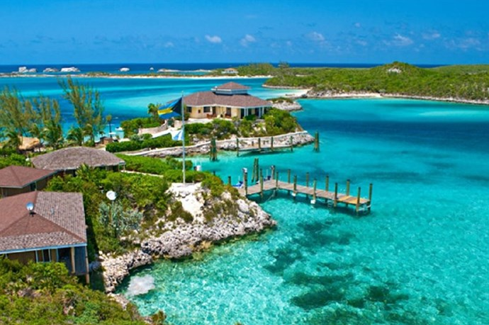 "**FOWL CAY RESORT** <br><br> Exumas, Bahamas, [fowlcay.com](http://www.fowlcay.com/|target=""_blank"") <br><br> With a multitude of two or three bedroom villas to choose from, this resort is ideal for group retreats or family excursions. Fowl Cay provides you with everything a vacationer could ever wish for. With your own golf cart to travel the grounds, you'll also enjoy provided meals, swim gear, various games, and plenty island activities. The best part? Your villa comes with its very own boat to buzz around the island with.  <br><br> *Prices starting at approx. $2,194 per night, per couple.*"