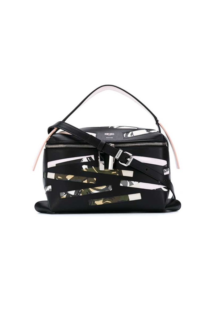 Bag, $932, Kenzo from [Farfetch](https://www.farfetch.com/au/shopping/women/kenzo-rizo-broken-camo-tote-item-12064593.aspx?storeid=9954&from=search_listing&ffref=lp_pic_8_5_)