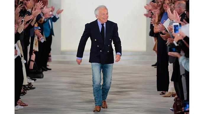 **Ralph Lauren**  Few people know that Ralph Lauren's last name is not actually Lauren—it's 'Lifshitz'. The designer changed his last name when he was 16 because he was bullied for having the word 'shit' in his name.