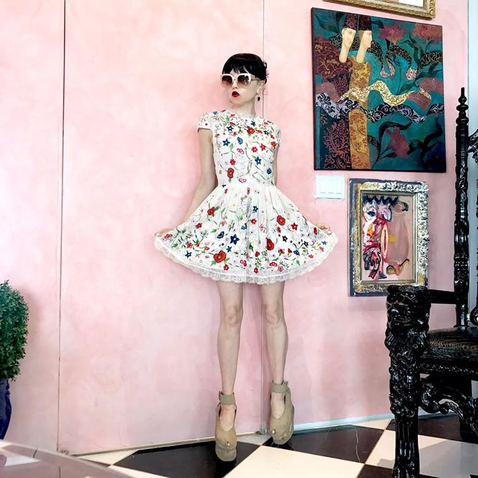 **Alice + Olivia**  Most people think that the brand is named after the two female founders, but in fact they are called Stacey Bendet and Rebecca Matchett. Alice and Olivia are their mother's names.