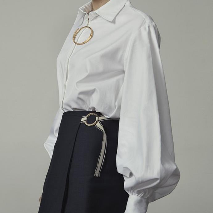 "**Why do you think this item did so well for you?** *""White shirts are a great wardrobe staple and can work for any wardrobe.""*   **What are you predicting to be your next 'big' item?** *""Shirt dresses and [bishop sleeves](https://annaquan.com/collections/shirts/products/adagio-shirt
