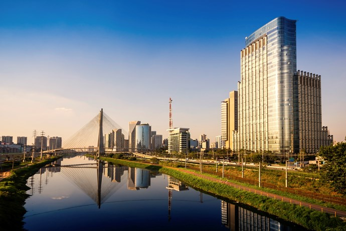 **2. Sao Paulo, Brazil**  From smart bistros to fine restaurants, there's something for everyone in this food haven. Make sure you try the nation's signature dish, the Brazilian feijoada (black bean and meat stew).
