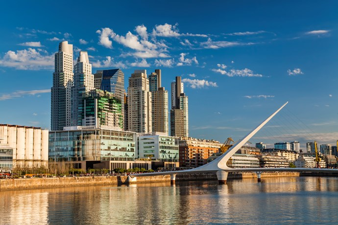 **10. Buenos Aires, Argentina**   Everything from the steak to the sweet treats is worth the plane ticket.