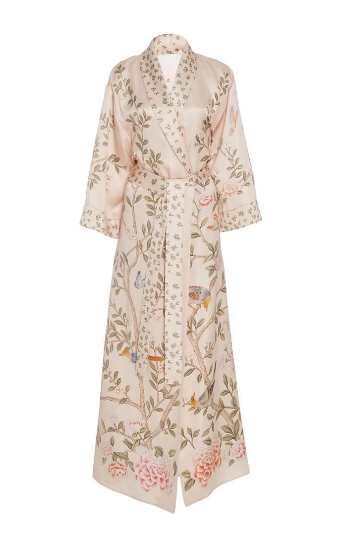 Printed Silk Robe, $2,638, Moda Operandi X De Gournay at [Moda Operandi](https://www.modaoperandi.com/moda-operandi-x-de-gournay-gifting17/printed-silk-robe)