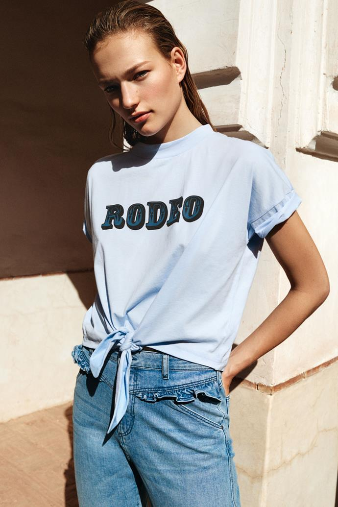 **CLAUDIE PIERLOT**  Youthful, preppy and with tomboyish charm, it's unsurprising that Claudie Pierlot has garnered such a strong following. Founded in the 90s, there's a sense of irreverence that manifests itself in oversized hoodies, lace tunic dresses worn with biker boots or bold slogan T-shirts and jumpers.  ***Claudiepierlot.com***