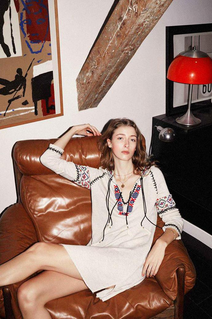 **LEON & HARPER**  Leon & Harper want to dress free-spirited, independent women who know who they are. How that translates is vintage-inspired pieces infused with modernity – we're fans of its perfect floral and spotty dresses, embroidered blouses and 70s-style tunics.  ***Leonandharper.com***