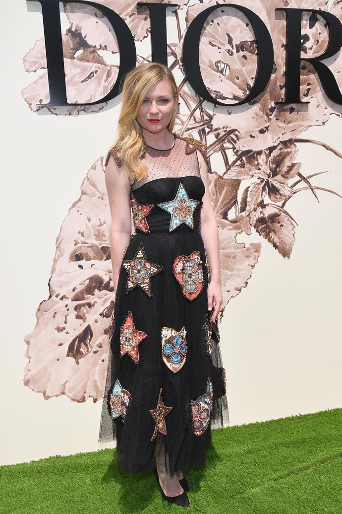 Kirsten Dunst at Dior