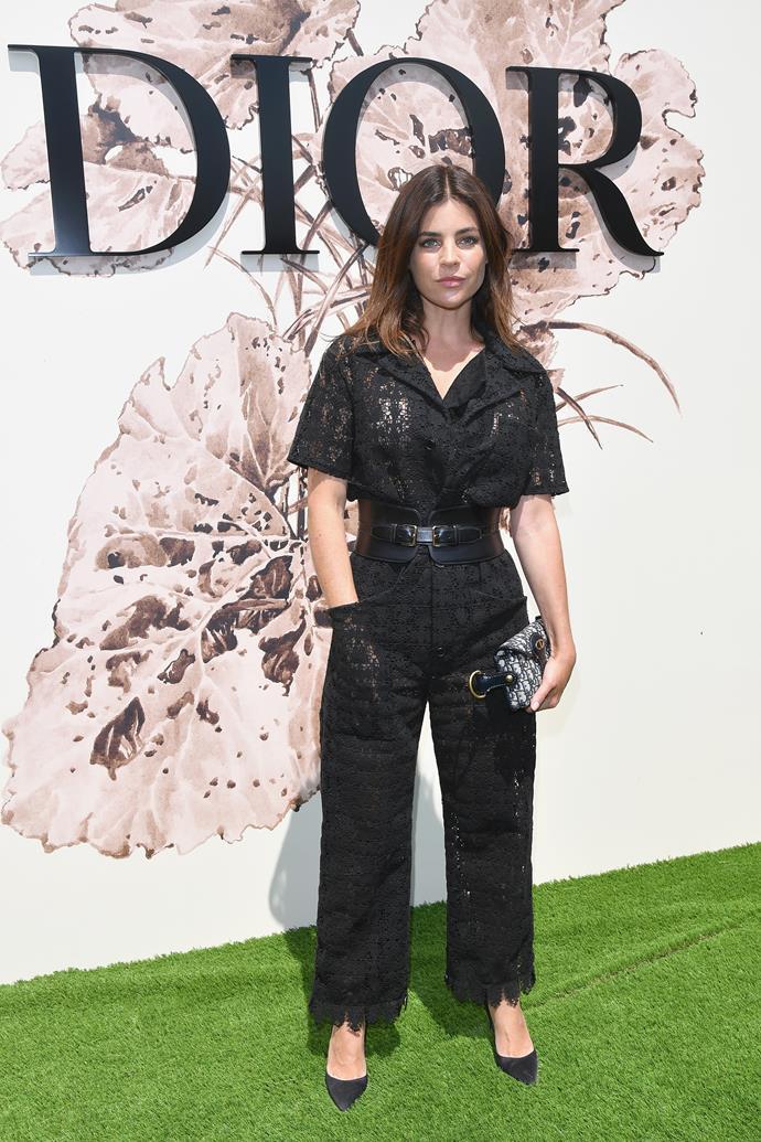 Julia Restoin Roitfeld at Dior