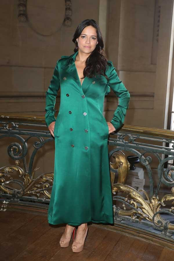 Michelle Rodriguez at Ralph & Russo