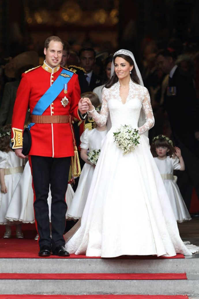"**Inspiring a Wikipedia page** <br><br> Kate Middleton's Alexander McQueen wedding dress was such an exciting fashion moment that the gown earned its own Wikipedia page — prompting some royal haters to demand the company take it down. ""The sheer presence of this article is one of the lowest points ever reached by Wikipedia!"" complained one commenter, as discussed at a conference."