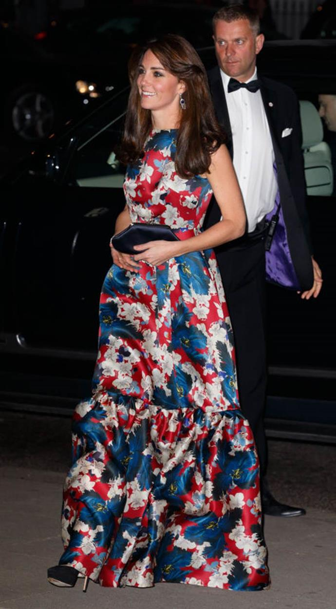 "**""Hurting our eyeballs""**<br><br>  Royals fans were divided on Kate's loud, ruffly Erdem dress, but one fashion blogger said it was ""hideous,"" ""horrible,"" and that ""the sight of it gives me heart palpitations and makes me want to cry."""