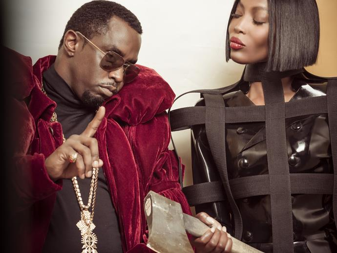"**Sean ""Diddy"" Combs & Naomi Campbell**"