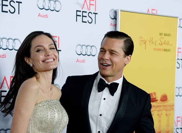 """**September 27, 2016** <br><br> The first sighting of a Brangelina party is expected at a screening for *The Voyage of Time* – a documentary narrated by Pitt. However, the *Troy* actor decides against attending and issues [the following statement](http://www.eonline.com/news/798059/brad-pitt-releases-statement-on-situation-with-angelina-jolie-and-family