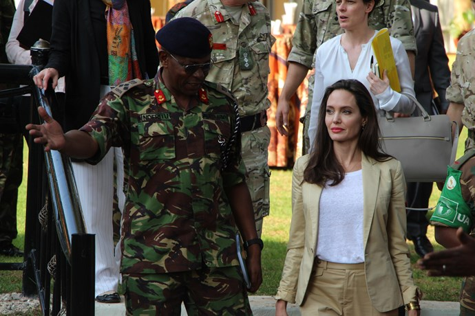 """**July 26, 2017** <br><br> Jolie's *[Vanity Fair](http://www.vanityfair.com/hollywood/2017/07/angelina-jolie-cover-story
