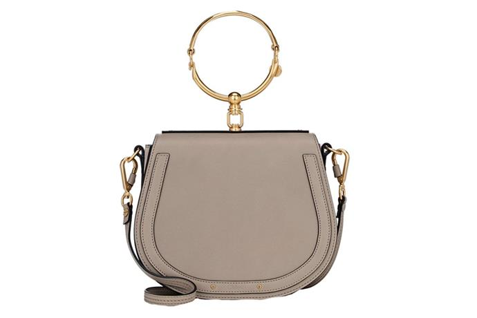 Nile Bracelet Bag, $2,800, Chloé at [Cult Status](https://cultstatus.com.au/collections/all-bags/products/chloe-nile-bracelet-bag-medium-smooth-motty-grey#.WYLJiYSGO71) <br><br> The bracelet bag is the wristlet's older sister, and the jewellery inspired hardware makes it the ideal special occasion bag.