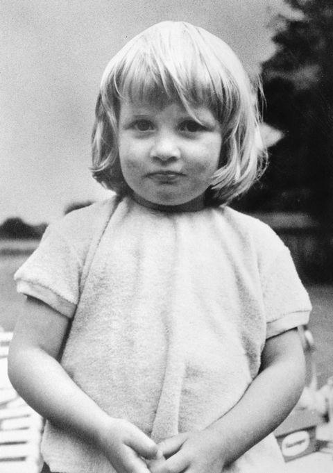 "**1964**  Diana at three years old. ""She was quite a lovable child,"" au pair Inge Crane told  [CNN]( http://edition.cnn.com/2007/WORLD/europe/08/15/diana.childhood/