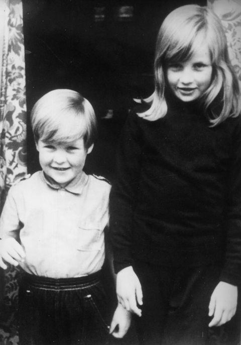 "**1968**  Diana with her brother Charles at their home in Berkshire. ""Diana deserves a place in history,"" Charles would say after her death. ""This was a special person, and not just a beautiful one."