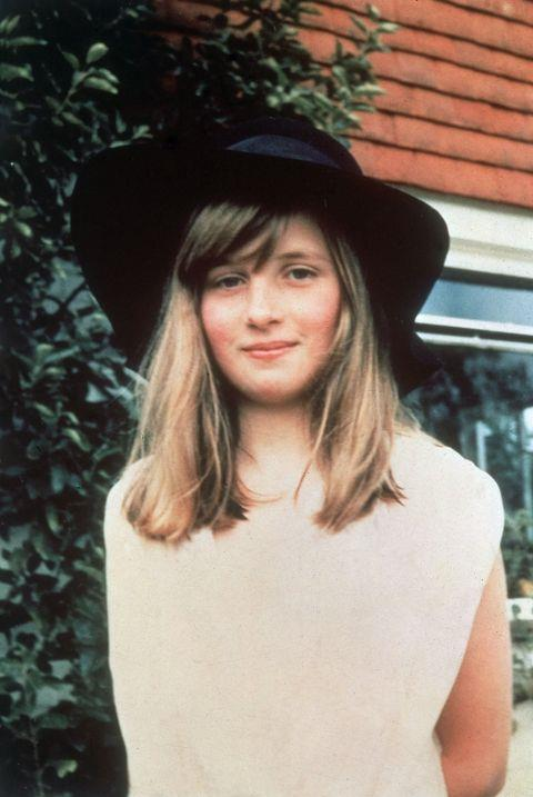 **1971**  Diana pictured during a summer vacation in Itchenor, West Sussex in Britain.