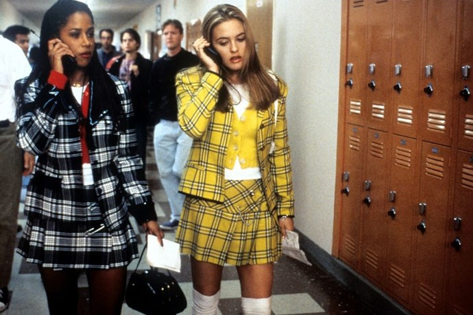 **CHER HOROWITZ, *CLUELESS*** <br><br> With her computerised closet of plaid suits, platform shoes, mini skirts, and Calvin Klein dresses, Cher Horowtiz was not only the best dressed in her school, but one of the best dressed of the '90s.