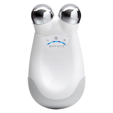 **For refined skin texture and facial contour** <br> <br> Apply the accompanying gel primer to your face, then smooth the two nodules over your skin in an upward direction for an instant face lift effect.   <br> <br> NuFace Trinity Device, $458, at [MECCA](http://www.mecca.com.au/nuface/trinity-device/V-022464.html?cgpath=skincare-electronictools#start=1).