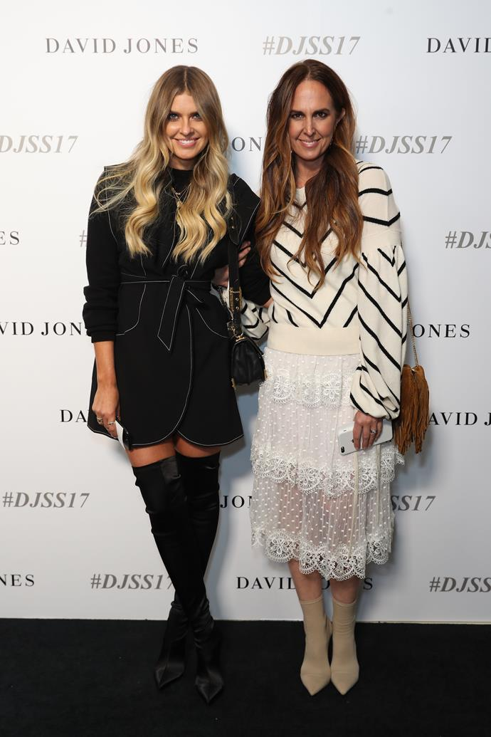 Elle Ferguson and Tash Sefton wears Zimmermann