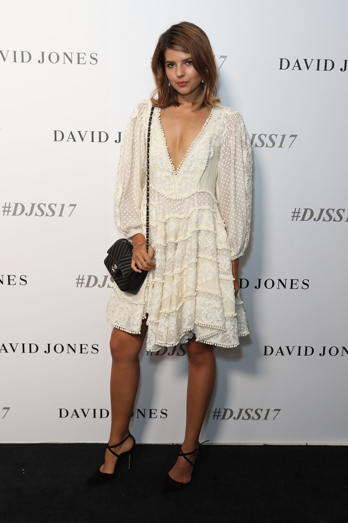 Talisa Sutton in Zimmermann