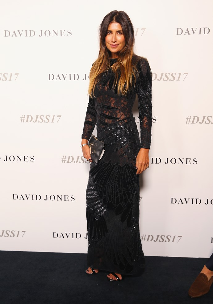 Jodhi Meares wears Romance Was Born