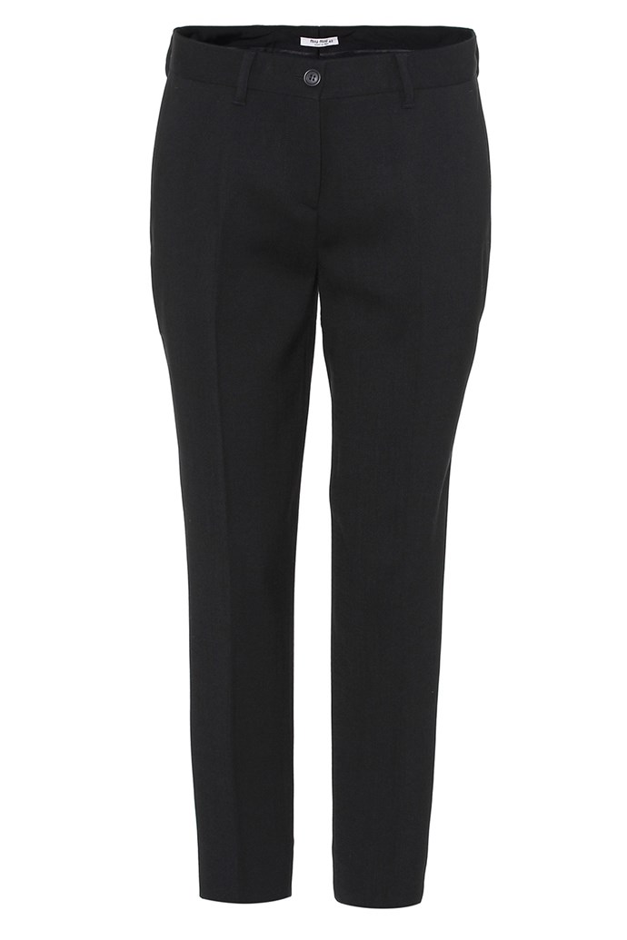 **Cigarette-leg trousers:** For the French woman, a dress isn't always the first outfit option for an evening soirée. Perfectly tailored, and often paired with a crisp white collared shirt and black blazer, the cigarette-leg trouser is a classic for a reason. <br><br> Pants, $870, Saint Laurent at [My Theresa](https://www.mytheresa.com/en-au/000271-wool-trousers-831730.html)