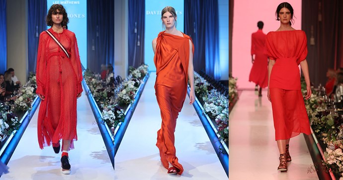 "**Red** <br><br> ""Bright red hues were a key trend for A/W '17 and the trend is not going anywhere for summer. This season the redder, the better! Worn head-to-toe, this makes for a powerful outfit that you will reach for again and again."""