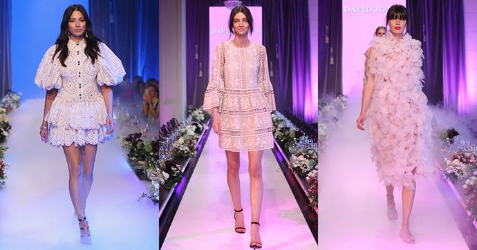 """**The New Romantic**<br><bt>  """"Relaxed silhouettes embody the essence of spring with maxi dresses, feminine blouses, midi-flounced skirts and tiered maxi skirts all making an entrance this season. Look for Victorian necklines, intricate frills and floaty silk-georgette detailing."""""""